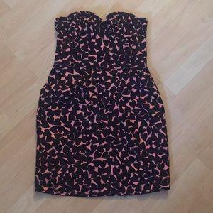 H&M Strapless Heart Bubble Dress, Size 6 (XS-S)